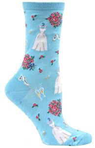 Here Comes the Bride Socks! | Sock Drawer