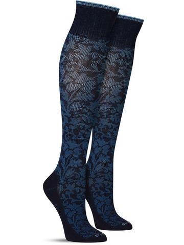 Damask Compression Knee High Socks