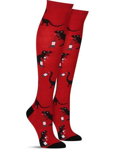 Wineasaurus knee high Socks