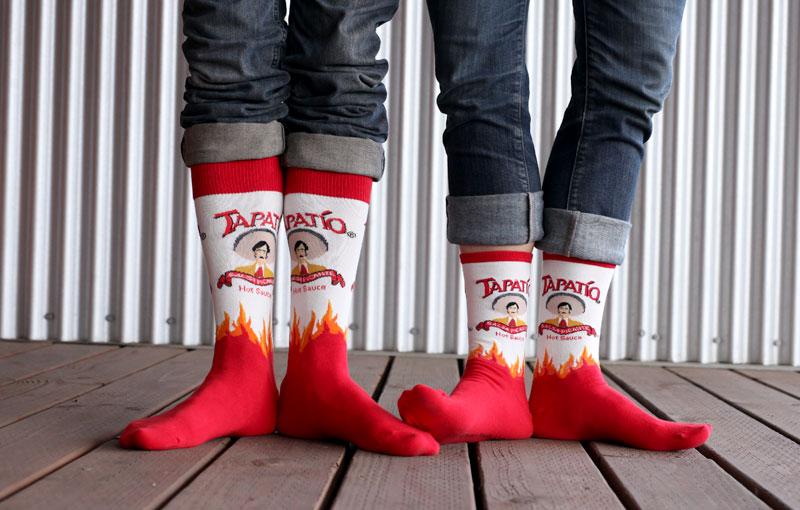 Valentine's Day Couple's Socks