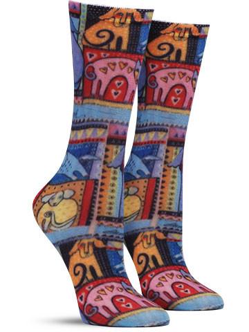 Colorful Dog Socks
