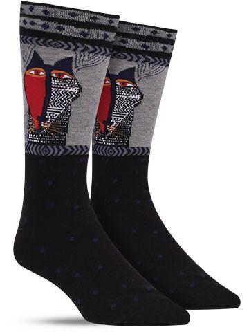 Native Cat Socks | Mens