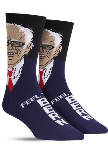 Bernie Sanders Hair Socks