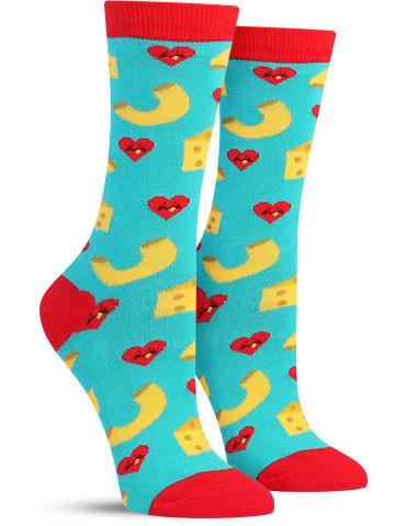 Mac & Cheese Love Socks