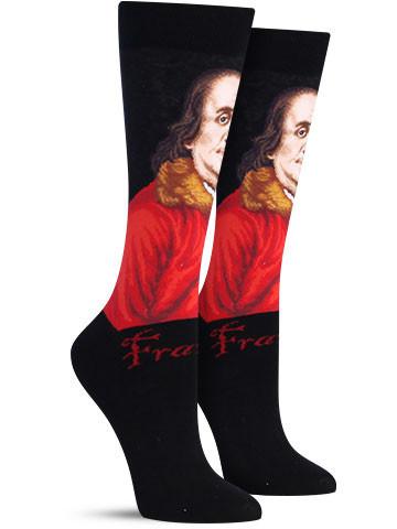 Benjamin Franklin Socks