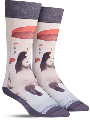 Panda Storm Socks | Mens