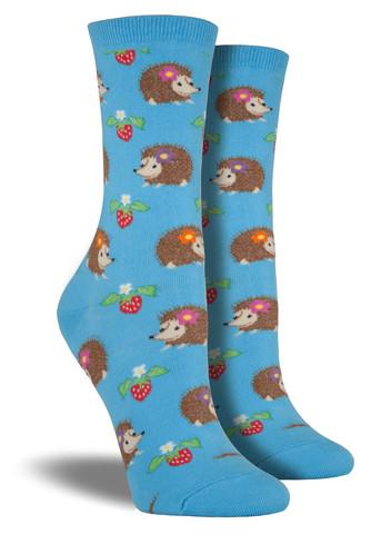 Hedgehog Socks  Blue