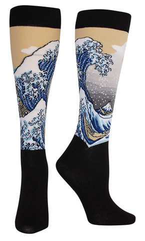 The Great Wave Masterpiece Series Socks