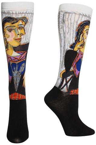 Portrait of Dora Maar Masterpiece Series Socks