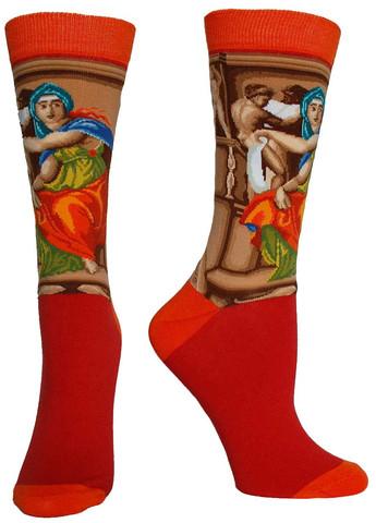 The Delphic Sibyl Masterpiece Series Socks