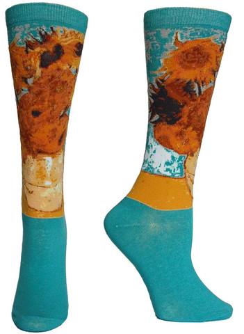 Sunflowers Masterpiece Series Socks