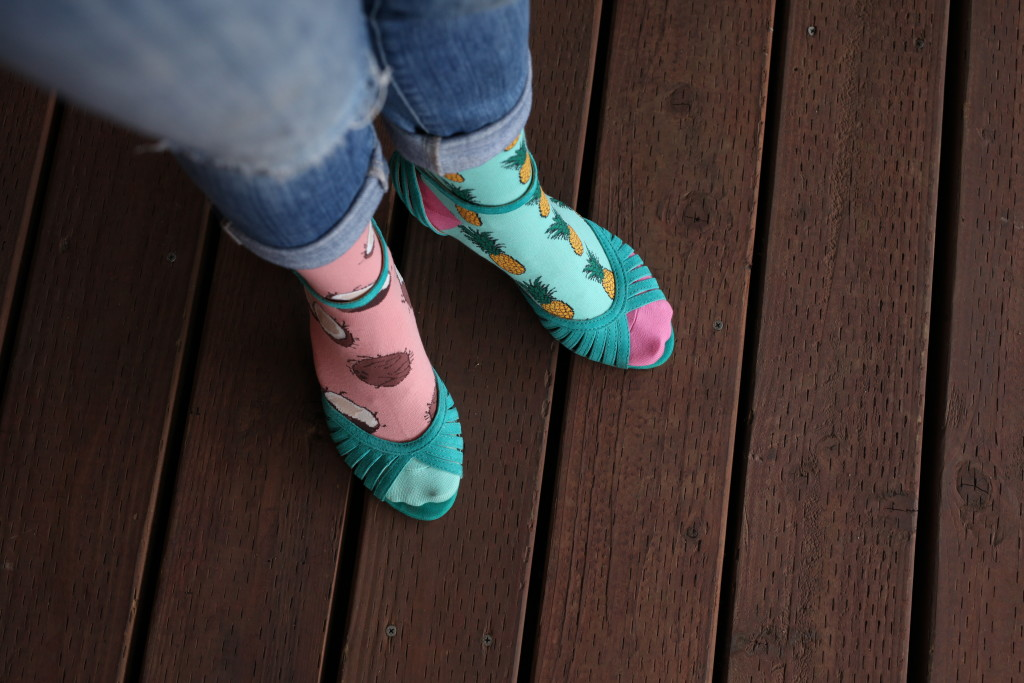 Style Alert! Try Socks With Heels