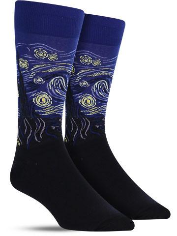 Starry Night Socks | Men's