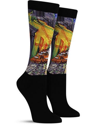 Cafe Terrace Masterpiece Series Socks