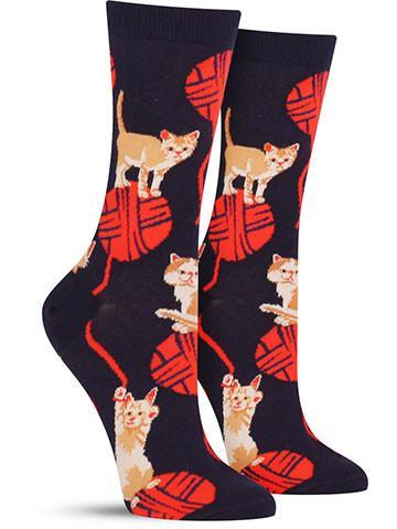 Kitten Knitten Socks