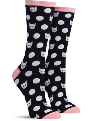 Meow-Ka Dots Socks