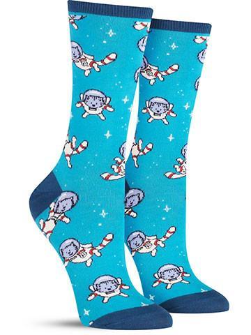 Catstronaut Socks