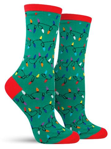 Christmas Lights Socks