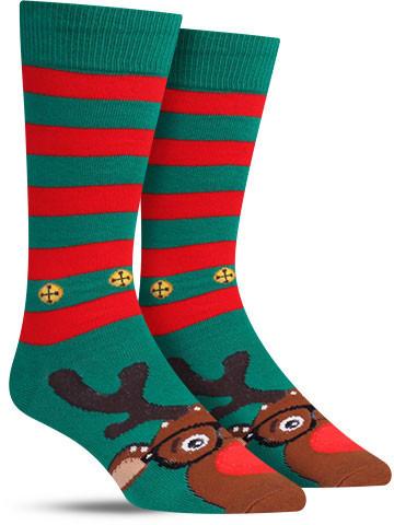 Rudolphster Christmas Socks | Men's