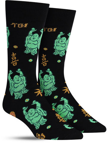 Happy Buddha Socks | Men's