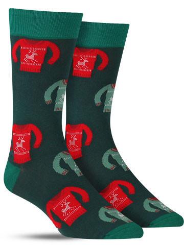 Ugly Christmas Sweater Socks | Men's