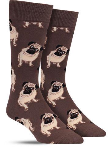 Pug Socks | Men's