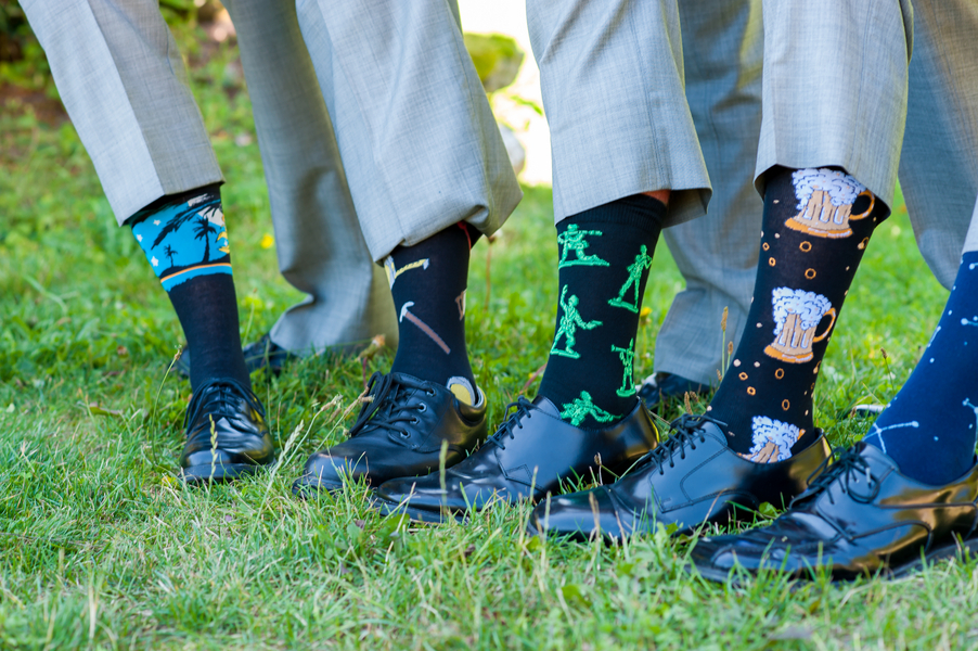 Wedding Party Favor In A Will You Be My Groomsman Package Or Can Let All Your Best Buds Pick Out Their Own Socks To Get Them Excited