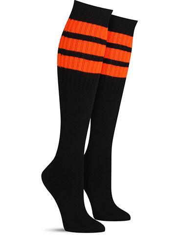 Black with Orange Stripes