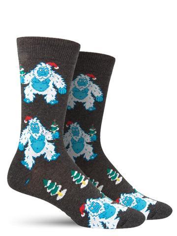 Christmas Yeti Socks | Men's