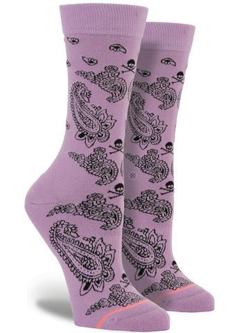 Poisoned Paisley Socks | Kid's