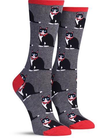 Tuxedo Cats Socks