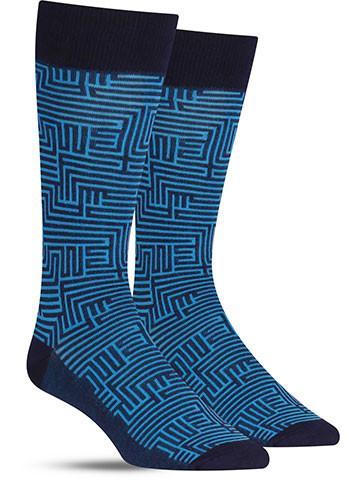 Dress Maze Socks | Men's