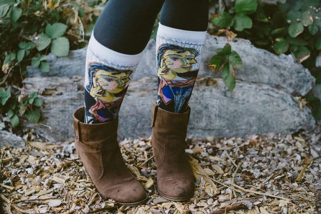 What a Masterpiece These Socks Are!