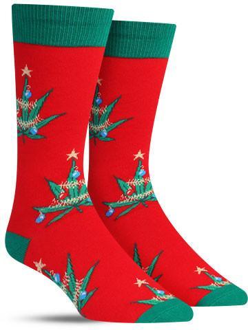 Pot Lovers Christmas Socks | Men's