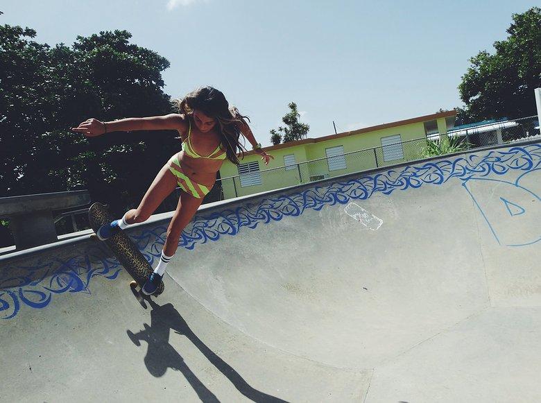 Striped Tube Socks: The Skater Girl Essential