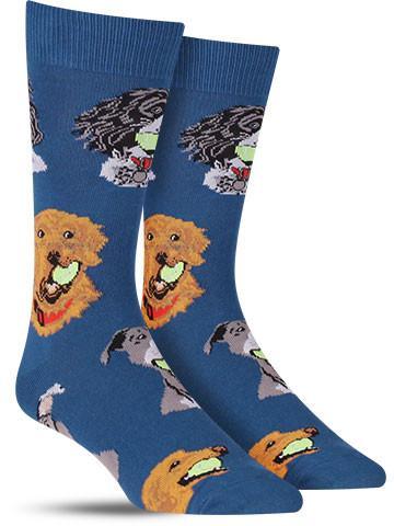 Ball Dog Socks | Men's