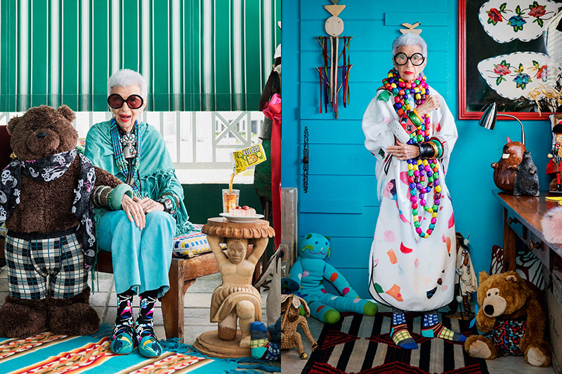 Fashion Icon Iris Apfel's Stylish Socks