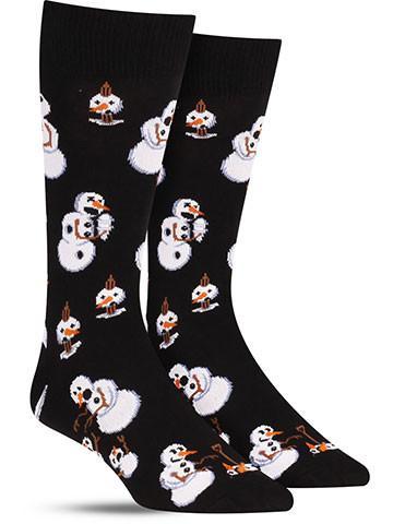 twisted snowmen christmas socks mens - Christmas Socks For Men