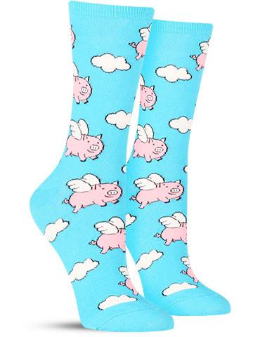Flying Pigs Socks
