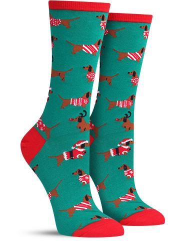 Christmas Haute Dog Socks