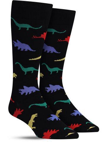 Dinosaur Socks   Men's