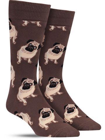 Pug Socks   Men's