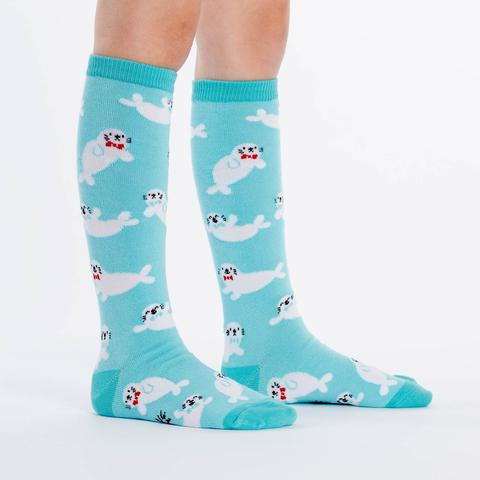 Baby Seals Knee High Socks | Kids