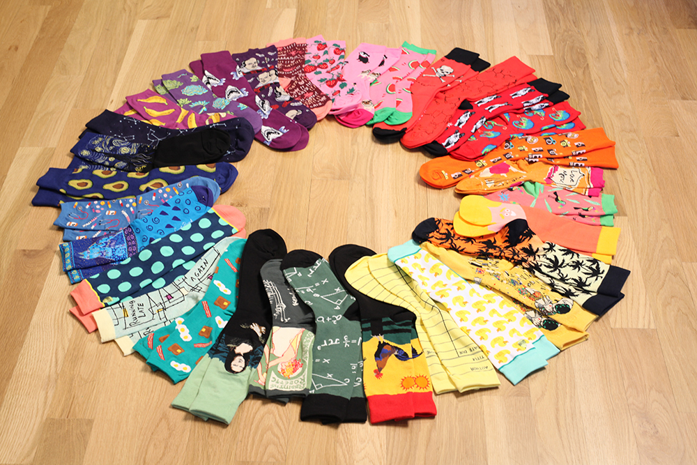 Awesome Socks in Every Color