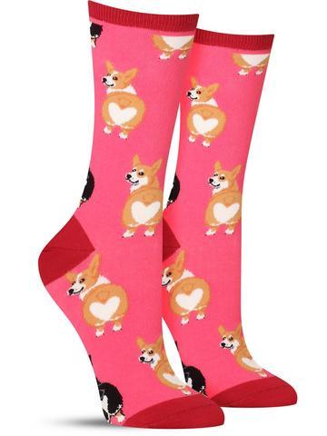 Corgi Butt Socks | Women's