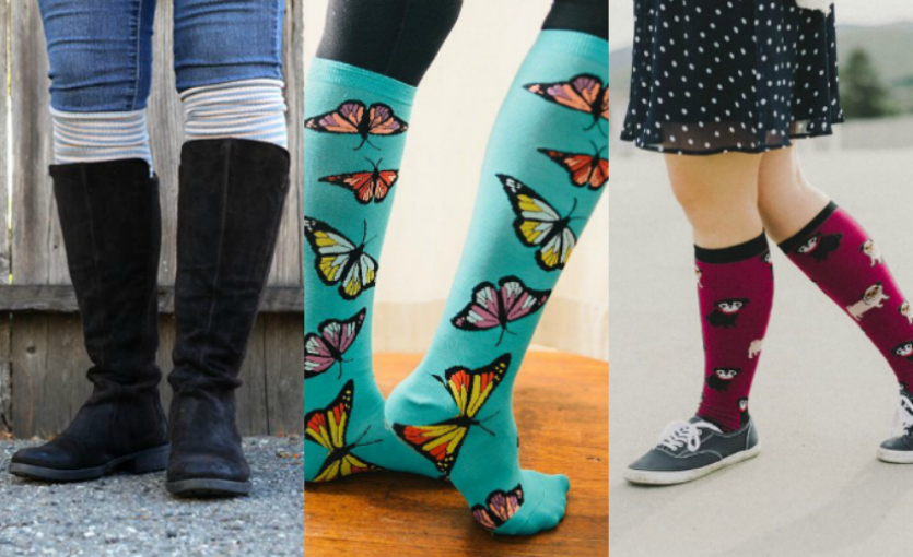 Rock Knee Highs from Winter into Spring