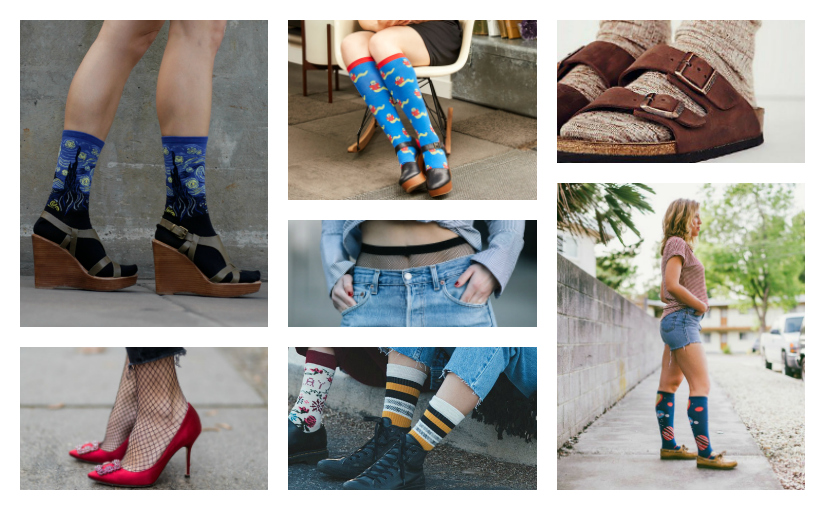How to Style 4 Quirky Sock Trends