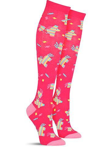 Pinata Party Knee High Socks