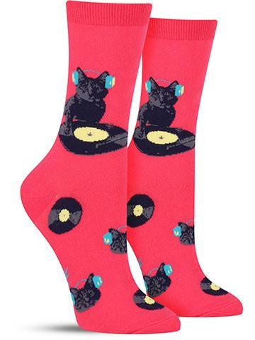 Cat Scratch Socks
