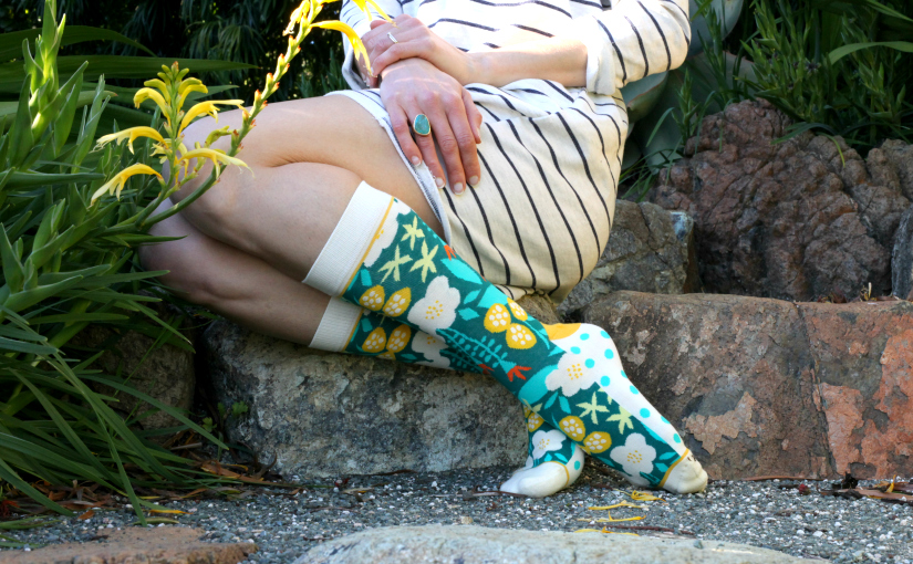 Plant & Floral Socks Are in Bloom!